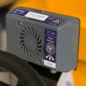 VCAS 200 Site Dumper Ultrasonic Detection - asset vcas 200 2