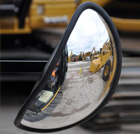 SC010 convex mirror