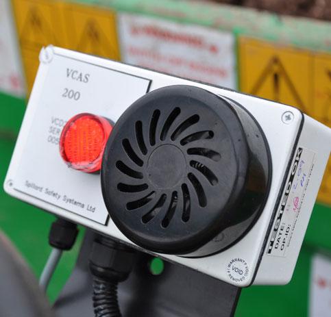 VCAS 200 Site Dumper Ultrasonic Detection - vcas 2