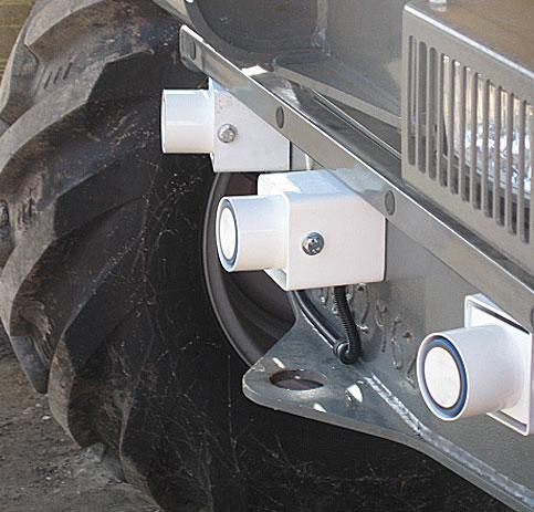 VCAS 200 Site Dumper Ultrasonic Detection - vcas 7
