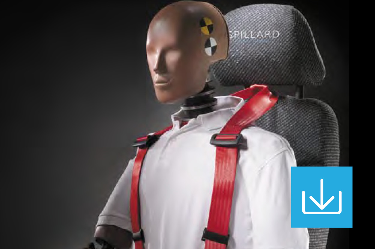 RollOver restraint seat and harness