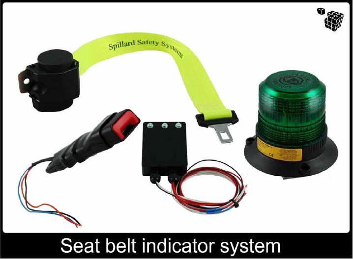 Seat Belt Indicators (SBI) - asset sbi 100