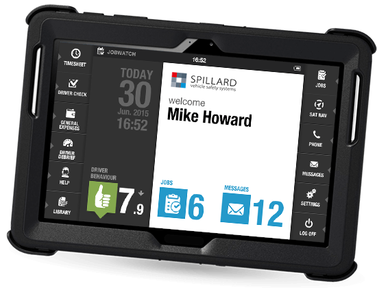 About Spillard Safety Systems - jw tablet